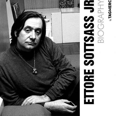 The biography of Ettore Sottsass by Bianca Killmann for TAGWERC