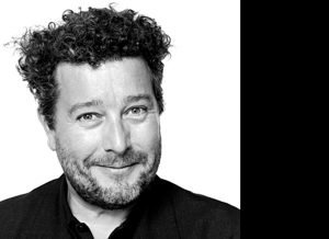 The young designer Philippe Starck.