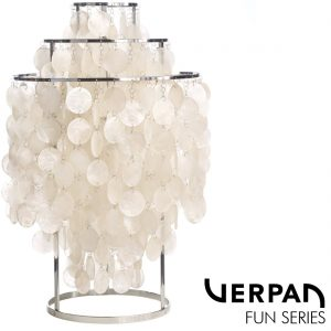 Lamps and furniture by Verpan.